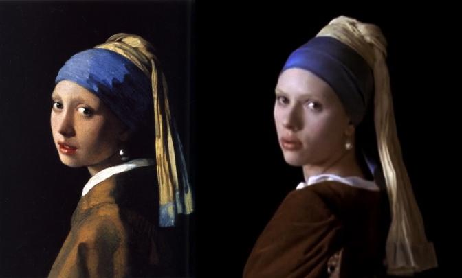 "Celuloide e Historia del arte: ""La joven de la perla"""