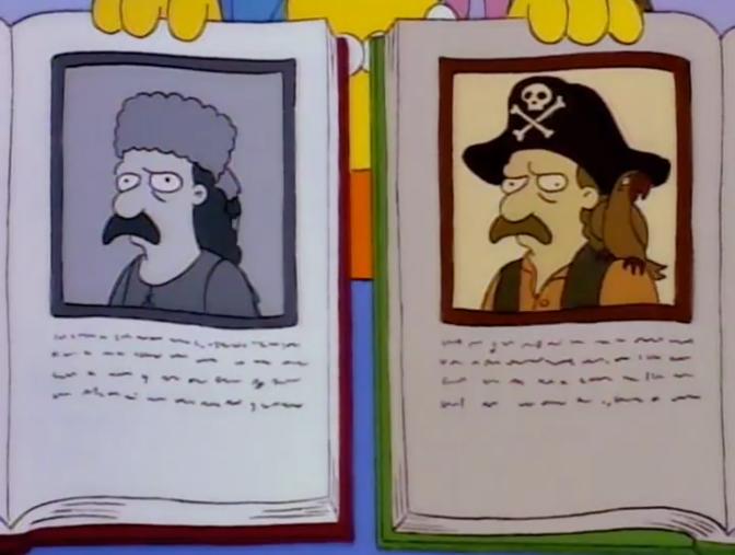 """Los Simpson y el oficio de historiador: """"Lisa la iconoclasta"""""""