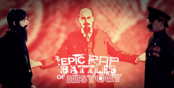 Epic Rap Battles of History – Rap, Historia y cultura popular.