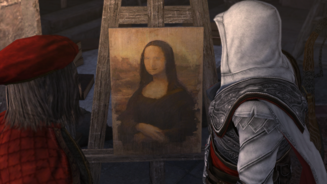 El coleccionismo de arte en Assassins Creed