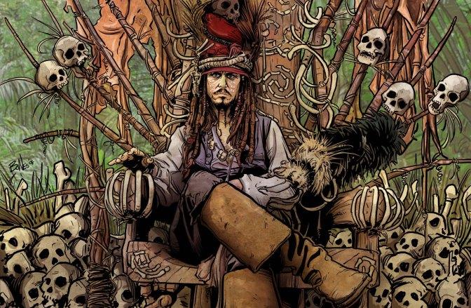 Piratas en un mar de Historia