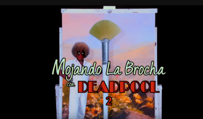 Deadpool Ross y el lienzo de las referencias