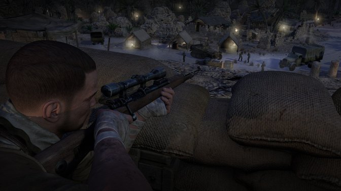Sniper Elite: La Historia a través de una mira telescópica.