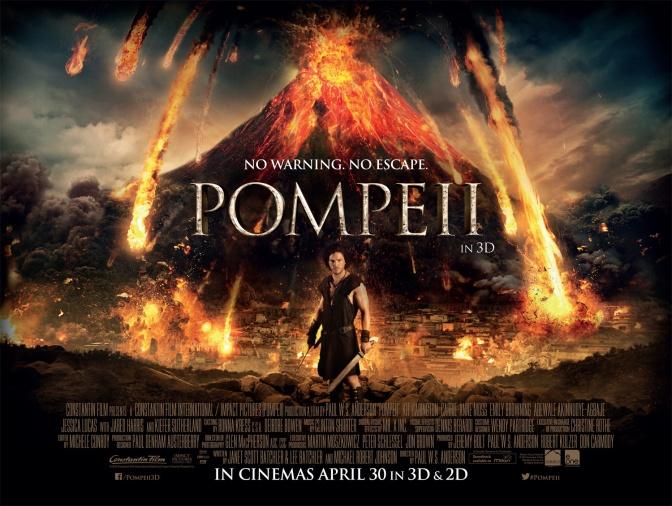 """La erupción del Vesubio en """"Pompeya"""" (2014)"""