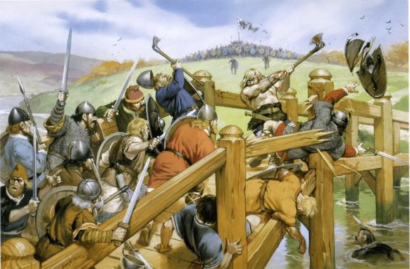 batalla-de-stamdford-bridge-lucha-en-el-puente
