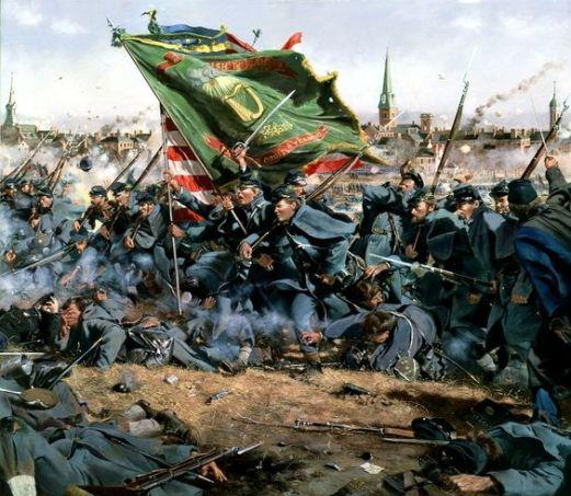 Troiani, Don - Batalla de Fredricksburg
