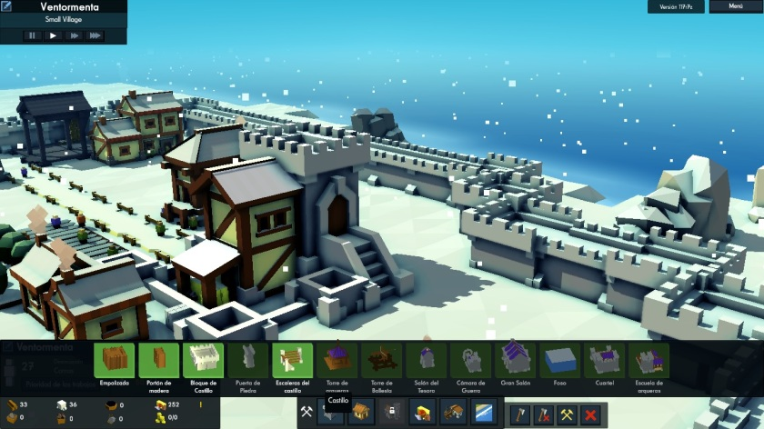 menu castillo kingdoms and castles